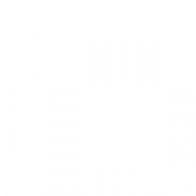 Настол. подкладка в полоску L=45, B=33см; оранжев. , красный