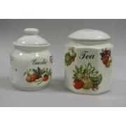 Набор и 2-х банок: чай+печенье «Овощи»
