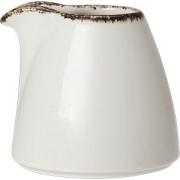 Молочник «Браун дэппл» фарфор; 85мл; белый, коричнев.