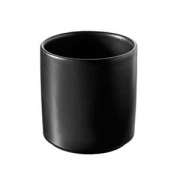 Соусник; фарфор; D=65,H=67мм; черный