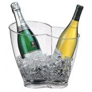 Ведро для шампанского на 2 бут-ки; пластик; 4л; H=26,L=30.5,B=21.5см