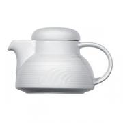 Чайник «Карат», фарфор, 650мл, D=140/55,H=120,L=190мм, белый