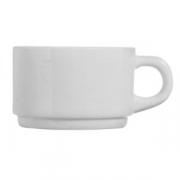 Чашка чайная «Эвридэй», стекло, 280мл, белый