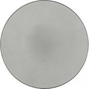 Тарелка мелкая «Экинокс» D=26, H=3см; серый