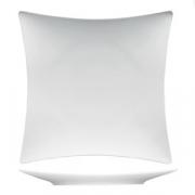 Тарелка квадратная «Плэжа», фарфор, L=30,B=30см, белый