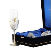 Бокал для шампанского 23 см 2 шт Тюльпан