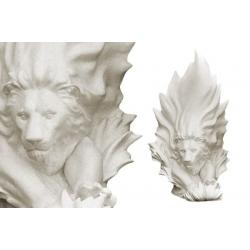 Ваза «Лев» (белая) 41 см