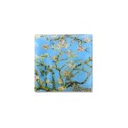 Тарелка квадратная Цветущий миндаль (Ван Гог) без инд.упаковки