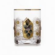 Набор стаканов 330мл.6шт «Хрусталь с золотом»
