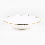 Набор 6 салатников 15см «Белый с золотом»