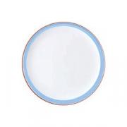 Блюдо для пиццы «Рио Блю», фарфор, D=31см, белый,синий