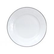 Тарелка закусочная, 21,5 см, Жемчужина-платинум