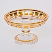 Ваза «Золотые окошки 66004» 14 см для конфет