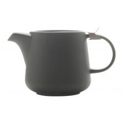 Чайник с ситечком Оттенки (чёрный) в инд.упаковке