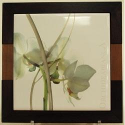 Подставка под горячее 19х19см «Орхидея»