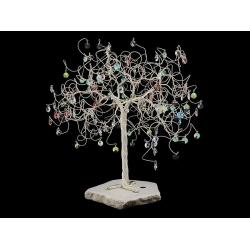 Сувенир в форме дерева, 120 подвесок, высота 40 см.