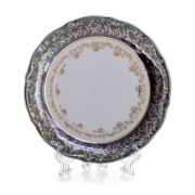 Набор тарелок «Лист зеленый» 19 см. 6 шт.