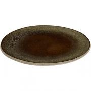 Тарелка бетон D=20см; серый
