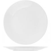Тарелка мелкая «Монако Вайт» D=23, H=2.3см; белый