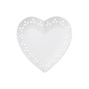 Тарелка (сердце) Лилия в подарочной упаковке