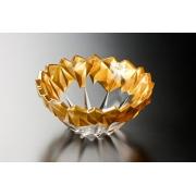 Салатник 25 см «Монтана» золото
