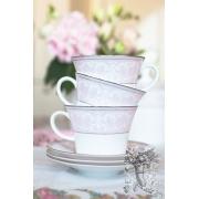 Тарелка под соусник «Розовая Симфония»