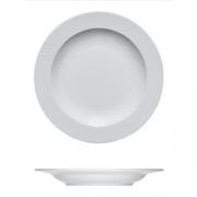 Тарелка глубокая «Карат», фарфор, D=230/170,H=25мм, белый