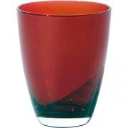 Стакан «Тэа» стекло; 300мл; красный