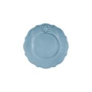 Тарелка закусочная Аральдо (голубой)