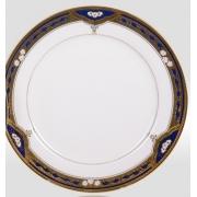 Набор подстановочных тарелок «Дворцовый кобальт» на 6 персон