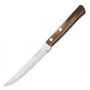 Нож для стейка с дерев. ручкой [3шт] сталь нерж. ; коричнев.