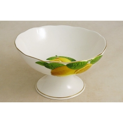 Блюдо на ножке 9,5х16 см «Лимоны»