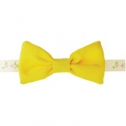 Бабочка для бармена L=11.5, B=6см; желт.