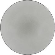 Тарелка мелкая «Экинокс» D=24, H=3см; серый