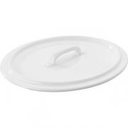 Крышка для бульон. чашки арт.005566 фарфор; белый