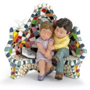 Статуэтка 10 см Влюбленные на скамейке