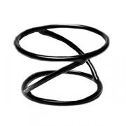 Подставка; металл,резина; D=17.8/15.2,H=10.2см