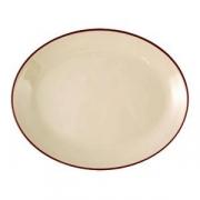 Блюдо овал «Кларет» 28см фарфор
