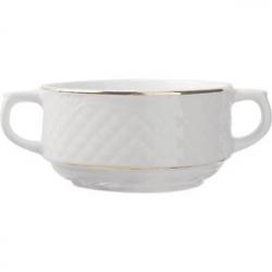 Бульон.чашка с руч. «Афродита» 300мл фарф