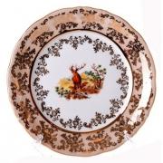 Набор тарелок «Охота медовая» 19 см. 6 шт.
