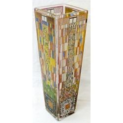 Ваза стеклянная «Фриз Стоклетт» 38 см.