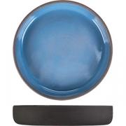 Салатник «Даск» D=20.5, H=3.5см; серый, голуб.