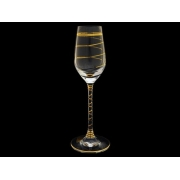 Бокал для шампанского Престиж, Золотая спираль