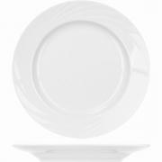 Тарелка мелкая «Голубка» D=24см; белый