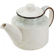 Чайник «Пастораль» фарфор; 775мл; зелен.