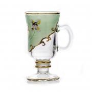 Набор стаканов для чая на 6 перс. . «Лепка зеленая»