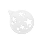Трафарет для украшения торта TORTELLA Koziol, белый