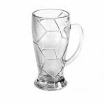Кружка пивная «Лига», стекло, 690мл, D=95,H=170,B=134мм, прозр.