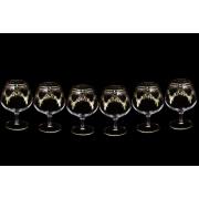 Набор: 6 хрустальных бокалов для коньяка Валлетта