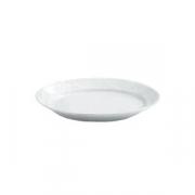 Блюдо овальное «Алберго», фарфор, H=6,L=42,B=29см, белый